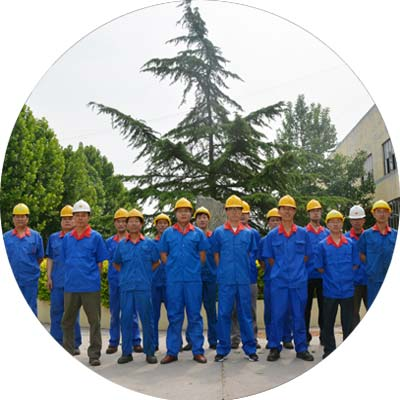 sand dredgers manufacturing team