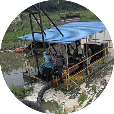 potable sand dredger application
