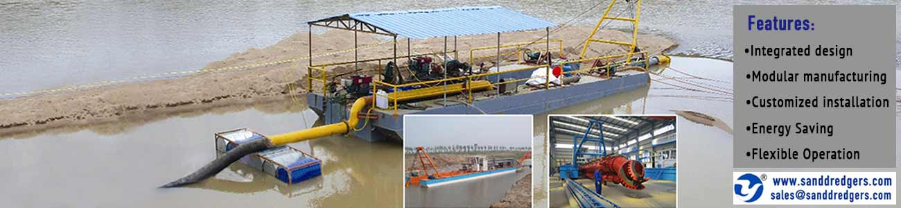 high quality dredging equipment banner