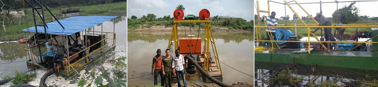 high quality potable dredger banner